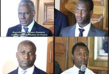 Ambassade de Guinée en France: remise officielle du site internet de l'Ambassade par «CADEV-GUINEE»