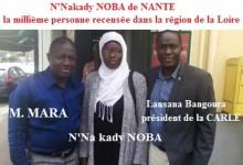 Recensement des Guinéens de France : la millième personne recensée à LAVAL s'appelle N'nakady NOBA