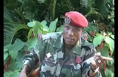 Invité D'Afrique sur RFI: Moussa Dadis Camara  président de la Transition parle de son retour en Guinée