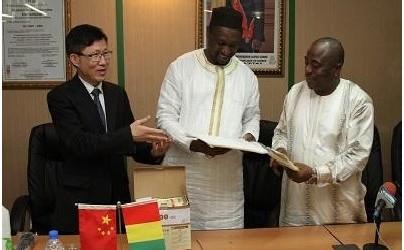 La Chine offre des produits antipaludiques à la Guinée
