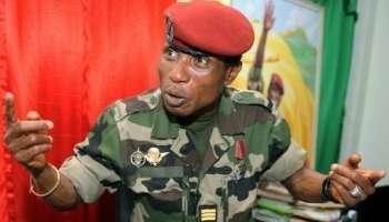 Flash info : Moussa Dadis Camara  en escale à Abidjan et il rentre demain samedi à Conakry