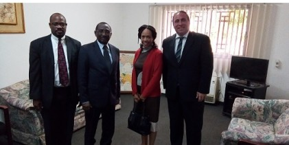 Deputy Assistant Secretary Bureau of African Affairs, Bisa Williams  Chez Sidya Touré