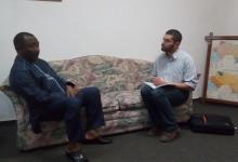 Le chargé de campagne Afrique de l'Ouest d'Amnisty international chez Sidya Touré