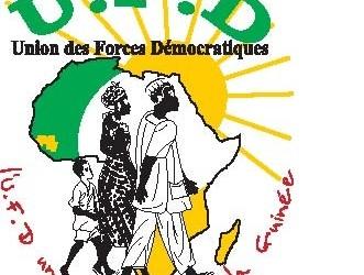 COMMUNIQUE  DE L'UNION DES FORCES DEMOCRATIQUES (UFD) (signé par  Sadio Barry)