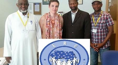 (ERG) « Ensemble pour le Guinée » le « Mouvement  Justice BAH OURY »  et El-hadj Sanoussy BAH aux Affaires étrangères belge.