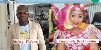 Idrissa  Fofana  le secrétaire général de l'UFR  LAVAL et son équipe  ont  obtenu l'adhésion de Mme TAMANATE  Diakhoumba, une actrice majeure de la communauté guinéenne  d'ANGERS