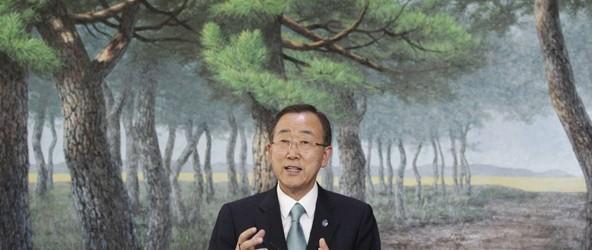 Le secrétaire général des Nations unies Ban Ki-moon: au Burundi, le pouvoir multiplie les déclarations incendiaires aux «relents ethniques»