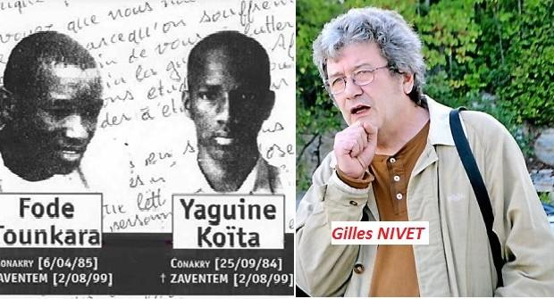 FODE et YAGUINE:C'était  il y a tout juste 16 ans, le martyr et l'appel au secours des deux adolescents guinéens.
