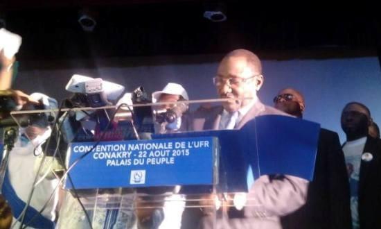 Discours de Sidya Touré à la convention d'investiture du candidat du Parti
