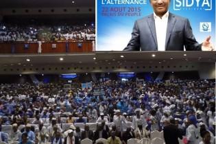 Campagne électorale 2015 (25 septembre): Tranche de Sidya Touré