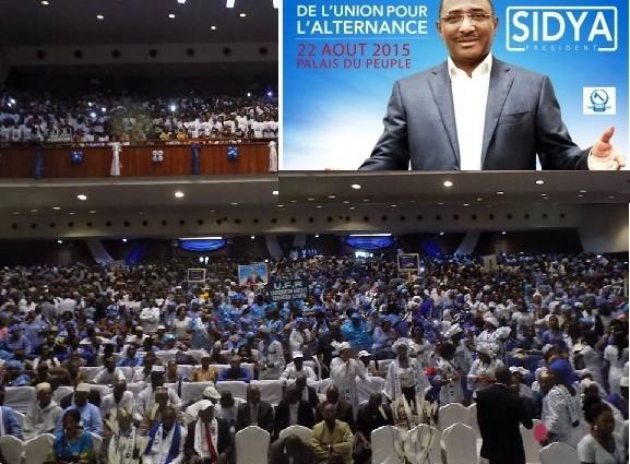 Convention d'investiture du candidat de l'UFR à l'élection présidentielle de 2015