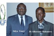 Adhésion à l'UFR : Dr Alhassane Makanéra Kaké, Professeur d'Université adhère à l'UFR