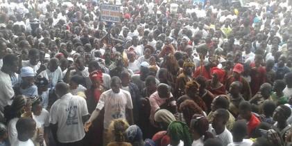 N'zérékoré s'est mobilisé pour accueillir le candidat de l'Union des Forces Républicaines : Monssieur Sydia Touré
