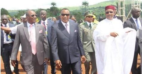 Guinée : le président Condé inaugure le plus grand barrage hydro-électrique du pays