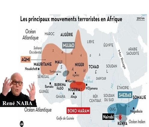 La galaxie terroriste en Afrique (par René NABA)