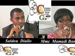 CAGF / Election du président des Associations Guinéennes de France