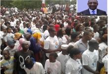 Kindia : la mobilisation impressionnante des populations pour Sidya Touré