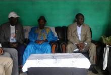Macenta : Les patriarches Cloubania Kourouma des Mania de Macenta et Gaou koîvogui des Toma soutiennent Sidya Touré.