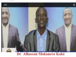 UFR: Journal de campagne N°5 / Dr Alhassan Makanera Kaké s'adresse à la jeunesse