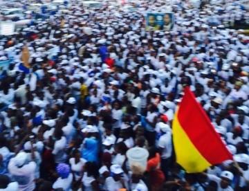 Les militants et militantes de l'UFR des îles de Loos empêchés de rallier kaloum pour accueillir leur champion.