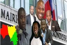 Meeting Géant des jeunes leaders de la société civile et des jeunes leaders des partis politiques guinéens à Paris.
