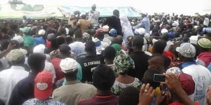 Maferinyah : «  il faut avoir un tel régime dans un pays pour voir les usines fermer comme Salguidia » a dénoncé Sidya Touré.