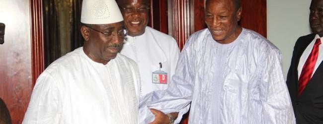 Sekhoutoureya : le Président Sidya Touré a répondu à l'invitation d'Alpha Condé