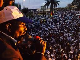 [Spécial Guinée] Démonstration de force de Sidya Touré à Conakry