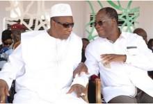 Côte d'Ivoire:  Quand le président Ouattara donne une leçon de démocratie au président  Alpha Condé: il confirme qu'il ne sera pas candidat en 2020