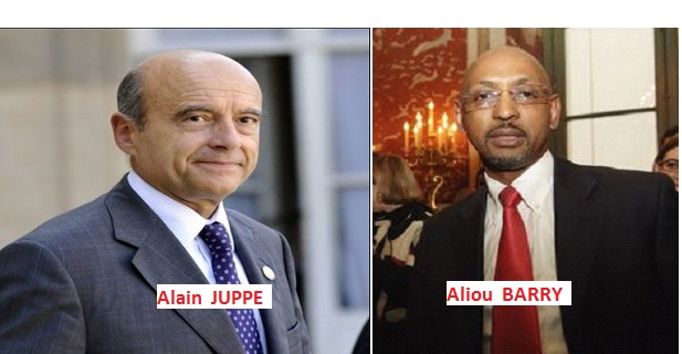 Aliou Barry désigné président du comité de soutien d'Alain Juppé en Guinée, Sierra Leone et Libéria