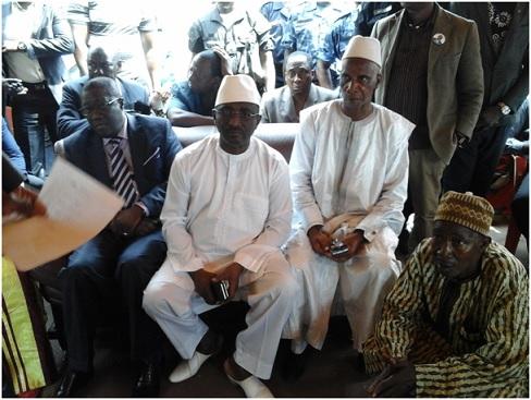 Décès de Soriba Sorel Camara: Sidya Touré, Président de l'UFR, Haut représentant du Chef de l'Etat présente ses condoléances