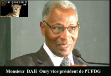 Bah Oury : «La balle qui a atteint Mohamed Diallo m'était destinée»