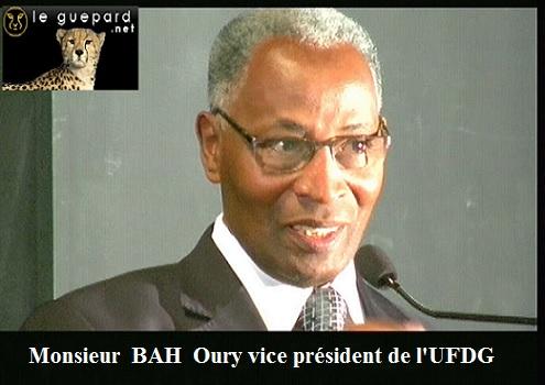 Bah Oury remercie Baidy Aribot et précise : ''Je reste et demeure vice-président de l'UFDG''