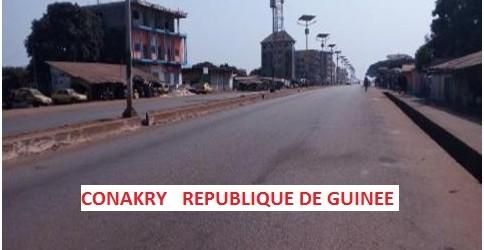 Guinée: Deuxième jour de grève générale paralyse Conakry et d'autres villes de l'intérieur