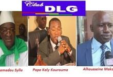 Le club DLG reçoit Elhadj Mamadou Sylla, M. Papa Koly Kourouma et M. Alhouseine Makanera Kaké