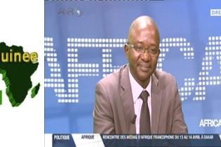 Monsieur KHADRA Malick Diaby parle du secteur informel guinéen sur AFRICA 24