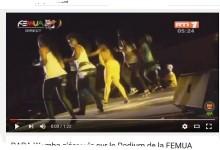 Les derniers moments de Papa Wémba: il s'écroule sur le Podium de la FEMUA 2016