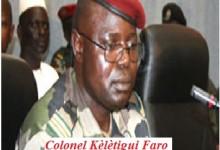 Décès à Conakry du colonel Kélétigui Faro, ex ministre de l'agriculture sous Sékouba Konaté