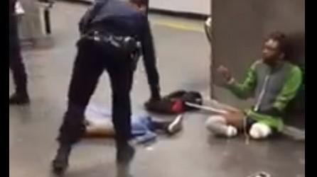 La police contrôle un handicapé et l'abandonne sans ses prothèses, un million de vues, pas de relais médiatique