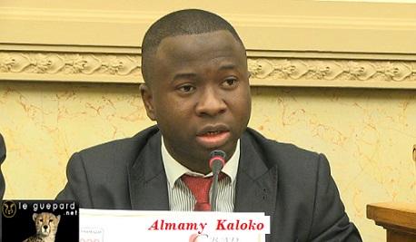 Colloque de la troisième dynamique et GRAD-GUINEE à l'assemblée nationale française / Discours d'Almamy Kaloko président de GRAD-GUINEE