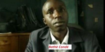 Aly Bathé Condé: si Alpha Condé met son pied en Haute Guinée il sera lapidé (vidéo)