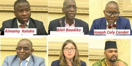 Colloque sur la relation Franco-Guinéenne de la Troisième dynamique à l'assemblée nationale française