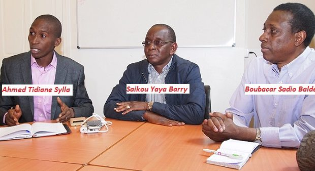 PARIS: HONORABLE SAIKOU YAYA BARRY RENCONTRE LES RESPONSABLES DE LA FÉDÉRATION UFR DE FRANCE ET DE LA COORDINATION UFR EUROPE