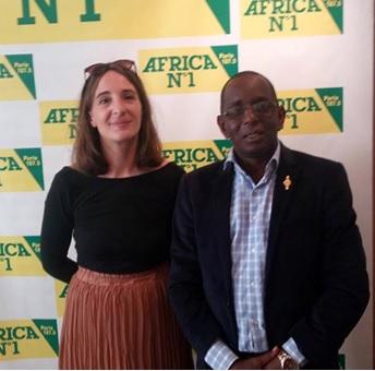 Saikou Yaya Barry, député de l'UFR parle de l'actualité guinéenne sur Africa N°1 à Paris