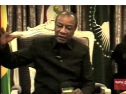 GUINEE/  Interview du président Alpha Condé en langue Soussou