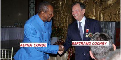 Voici pourquoi Bertrand Cochery ancien ambassadeur de la France a quitté la Guinée pour le Congo selon « Mediapart »