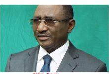 Lettre de démission de Sidya Touré de sa fonction du Haut représentant du chef de l'Etat