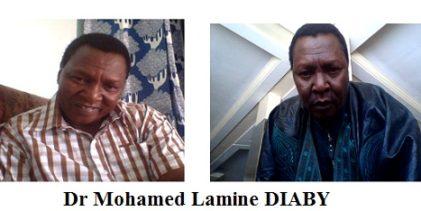 Décès de Dr Mohamed Lamine DIABY survenu le 27 juillet 2016 à la clinique Gamekalley de Niamey au Niger