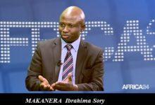 Makanera Ibrahima Sory dans le débat sur le dialogue politique guinéen sur Africa24 TV