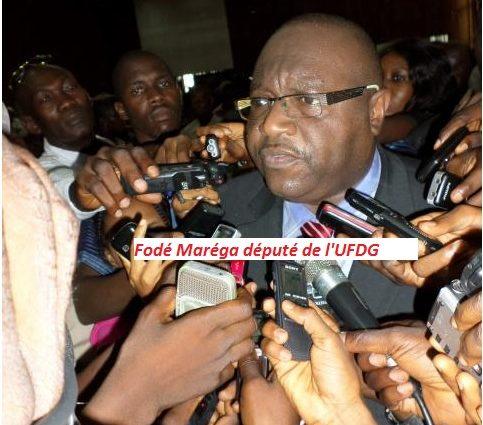 Le mensonge éhonté du député de l'UFDG Fodé Maréga sur Sidya Touré : avait-il été question que le regretté Bâ Mamadou soit nommé premier ministre de la transition huit mois après sa mort ?